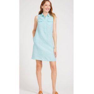 J. McLaughlin Aberdeen Linen Sleeveless Dress